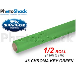 SAVAGE Paper Backdrop Half Roll - 46 Chroma Key Green