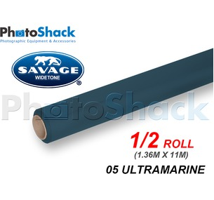 SAVAGE Paper Backdrop Half Roll - 05 Ultramarine