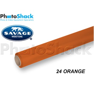 SAVAGE Paper Background Roll - 24 Orange