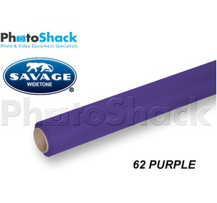 SAVAGE Paper Background Roll - 62 Purple