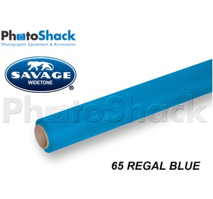 SAVAGE Paper Backdrop Roll - 65 Regal Blue
