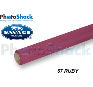 SAVAGE Paper Backdrop Roll - 67 Ruby