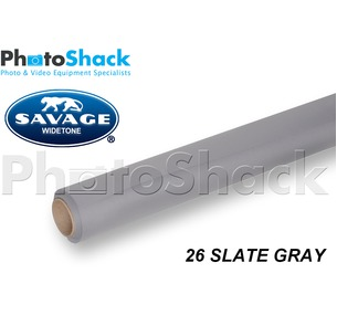 SAVAGE Paper Background Roll - 26 Slate Gray