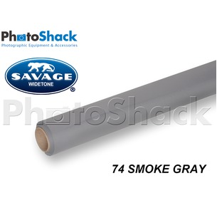 SAVAGE Paper Background Roll - 74 Smoke Gray