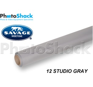 SAVAGE Paper Background Roll - 12 Studio Gray