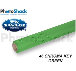 SAVAGE Paper Backdrop Roll - 46 Chroma Key Green
