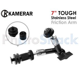 "7"" Tough Stainless Steel Friction Arm Kamerar"
