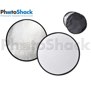 2 in 1 Reflector Light Disc (Silver & White) 80cm