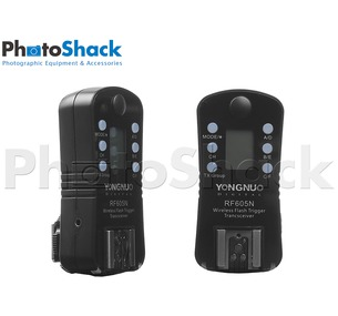 RF-605N wireless 2.4GHz trigger for Nikon