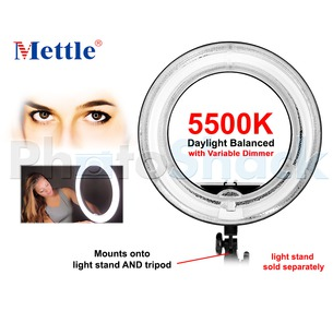 Fluorescent Ringlight - 50W - Mettle RL50