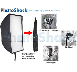 Softbox for Speedlite / Continuous Light / AC Flash
