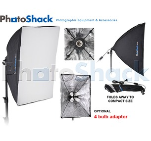 Continuous Lamp Holder & Softbox 50x70cm