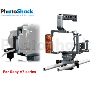Camera Cage - for Sony A7 or similar camera sizes