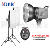 Studio Light Set - 800W (2xK400)