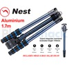 Nest 1.7m Aluminium Tripod 5 section