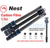 Nest 1.7m Carbon Fibre Tripod 5 section